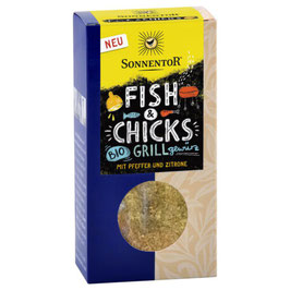 SONNENTOR - Fish & Chicks Grillgewürz 55 g