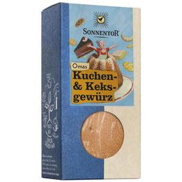SONNENTOR - Omas Kuchen- Und Keksgewürz 50 g