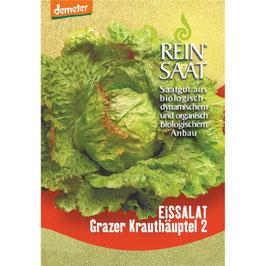 REINSAAT GEMÜSESAMEN  -  Eissalat Grazer Krauthäuptel 1 Btl