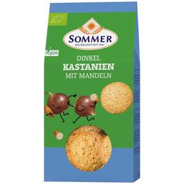 Sommer - Dkl.Kastanien-Mandel Plätzchen 150 g