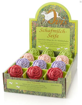 Schafmilchseife - Rose 100 g,  1 Stk. - OVIS