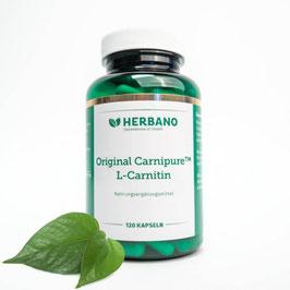 L-Carnitin Kapseln hochdosiert zum Abnehmen - HERBANO