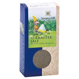 12-Kräutersalz 120 g - SONNENTOR
