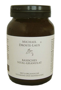 Basisches Vital-Granulat, 330g  - DROSTE-LAUX