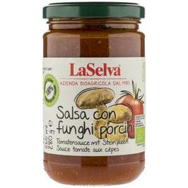 LA SELVA - Tomatensauce mit Steinpilzen 280 g