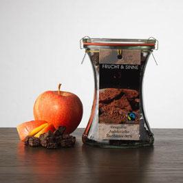 F&S Dragierte Apfelstücke Zartbitter