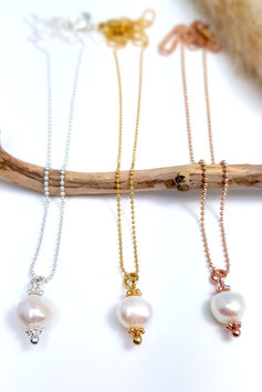 "Silberkette ""Pearl Diana"""