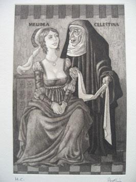 Melibea y Celestina