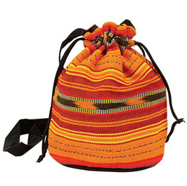 Guatemala Bag farbig klein mit Kordel, 18 x 16cm