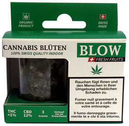 CBD Blüten Blow Fresh Fruit Green - 3g