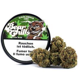 Junglebros Bear Chills, Indoor CBD Blüten