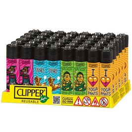 Clipper Yoga, Assortiert - 48er