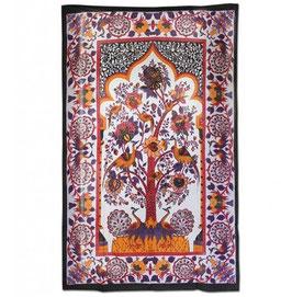 Batik Tuch Blossom Tree 135 x 215cm
