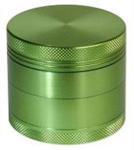 Aluminium Grinder Green Dream, 60mm, 4-Teilig