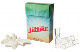 Jilter Glasfilter 3 Stk. + 42 Wattefilter