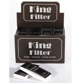 King Filter perforiert, 36x40 Tips, 70x30mm