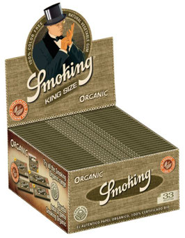 Smoking Paper Organic King Size (50 Stk)