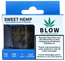 CBD Blüten Blow Sweet Hemp Blue - 3g