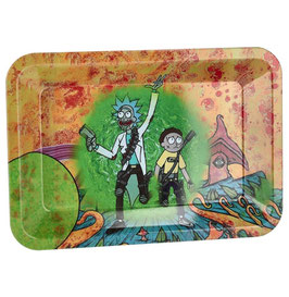 Rolling Tray Mischschale 18x12.5cm: Rick And Morty 1
