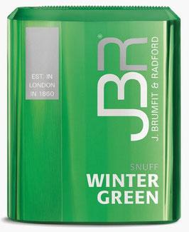 JBR Winter Green Snuff (10 x 10g)
