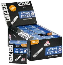 GIZEH Aktivkohle Filter (10 x 34Stk)