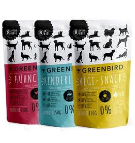 Greenbird Tierpellet ohne CBD 150g