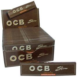 OCB Slim Virgin Unbleached (50 Stk)