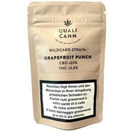 Quali Cann CBD Blüten Wildcard Strain (Grapefruit Punch)
