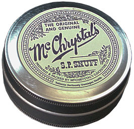 Mc Chrystal Snuff Tin (12 x 4.4gr.)