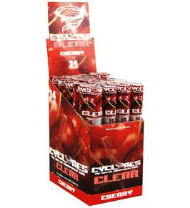 Cyclone Clear Cherry (Durchsichtig)  - 24 Stk
