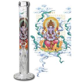 Glasbong Ganesha Rising - 45cm