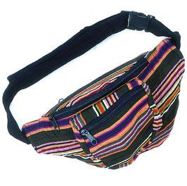 Guatemala Bauchtasche mit Zipper, mehrfarbig 30 x 15cm