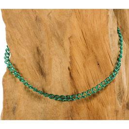 Brillen-& Maskenkette, Chain in türkis
