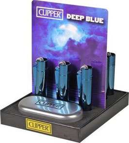 Clipper Metall Deep Blue (12er)