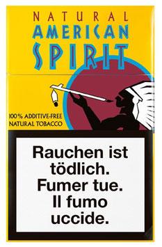 American Spirit Zigaretten Light (gelb) (10 Pack à 20 Zigaretten)