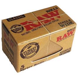 Raw Rolls Single Wide, 5m (24 Stk)