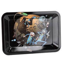 Rolling Tray Mischschale 18x12.5cm: Rick And Morty 2