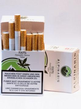 Alpinabis CBD Zigaretten Tabak & Hemp