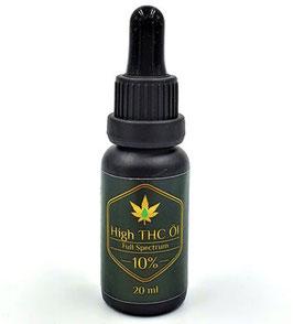 CBDeluxe High THC Öl 10ml / 10% CBD - MTC-Öl