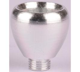 Purpfeifen Kopf Metall Silber