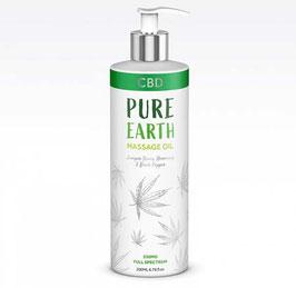 Pure Earth, CBD Massage Oil 200ml - 250mg CBD