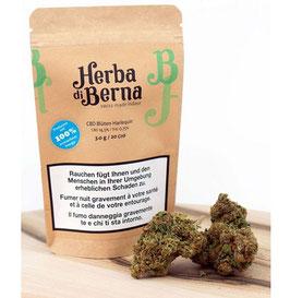 Herba Di Berna Harlequin Indoor CBD Blüten
