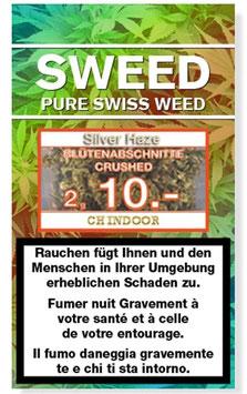 SWEED CBD Silver Haze Blütenabschnitte Crushed 2g