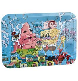 Rolling Tray Mischschale 18x12.5cm: Spongebob