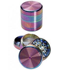 Metall Grinder, Rainbow 4-Teilig