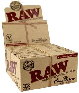 Raw Connoisseur KS Slim + Tips (24 x 32 Blatt)