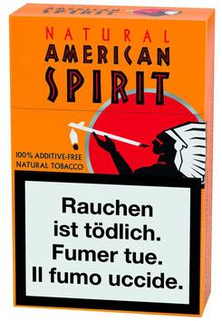 American Spirit Zigaretten Ultra (orange) (10 Pack à 20 Zigaretten)