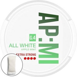 General G.4 AP:MI All White Lutschtabak - Bags (5 x 19,2g)