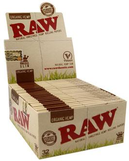Raw Organic KS Slim (50x 32 Blatt)