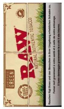 Raw Tobacco Green Beutel (5 x 25g)